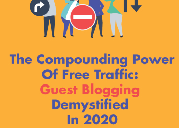 The Compounding Power of Free Traffic : Guest Blogging Demystified in 2020  - compounding power - 3 Secrets to Generate Traffic For Your Site this 2020 and beyond