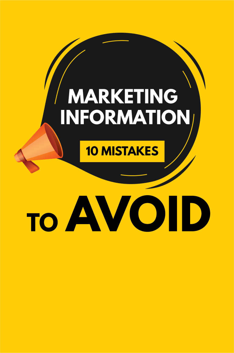information marketing 10 mistakes to avoid