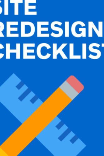 site redesign checklist