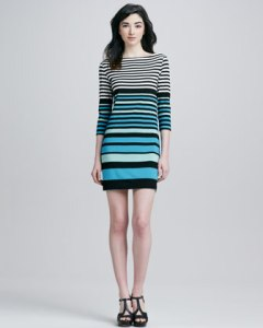 Trina Turk Striped Dress