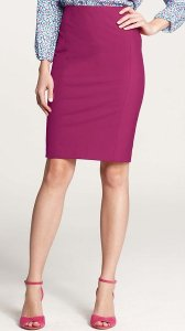Pencil skirt colorful - purple