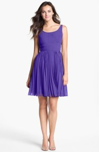 Adrianna Papell Fit and Flare Wedding Guest Dress