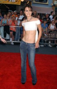 Keira Knightly Low-rise-jeans