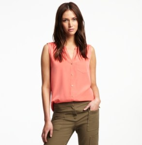 Kenneth Cole Sleeveless shirt