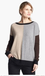 Pure Amici Colorblock Sweater NAS