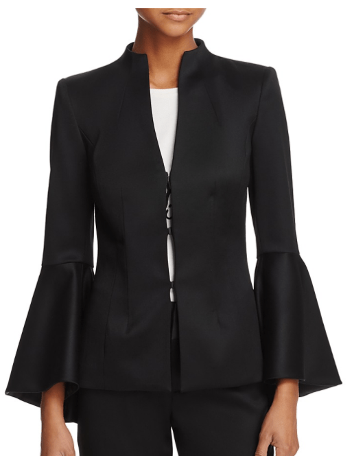 Alice and Olivia: Bell sleeve blazer