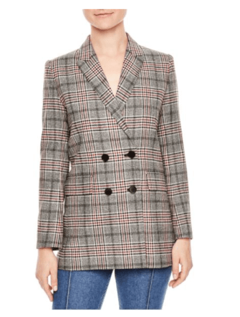 Sandro (Nordstrom) Glen plaid: Pricey but great quality