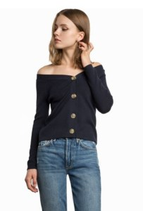 Pixie Market button statement sweater