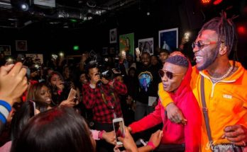 Wizkid Burna Boy Awards Winners