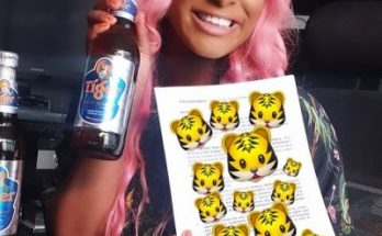 DJ Cuppy tiger beer