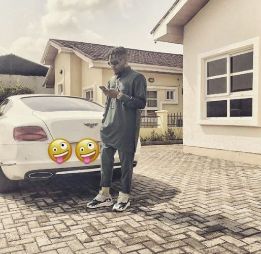 Nigerian artistes expensive cars video Vixen