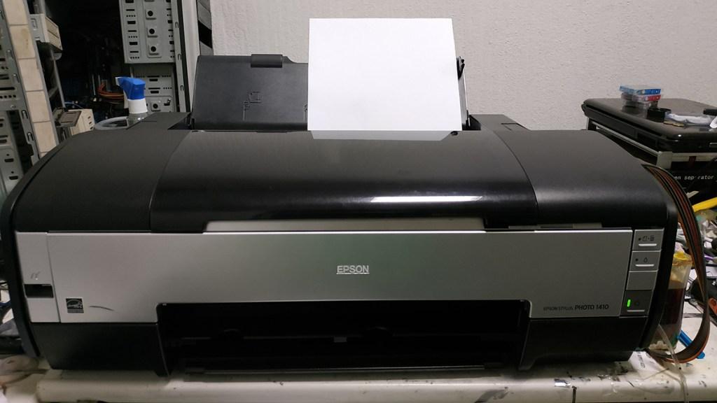 Epson 1410 разборка