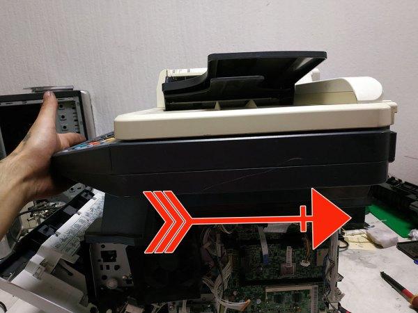 Застревает бумага в Kyocera - фото №23
