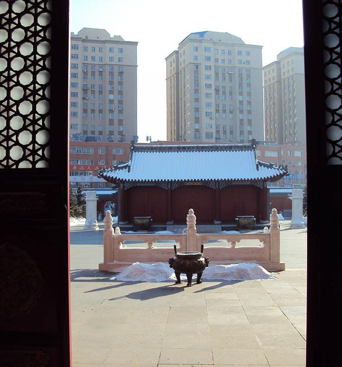 Changchun's confucian temple