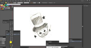 Editing a file in Adobe Illustrator