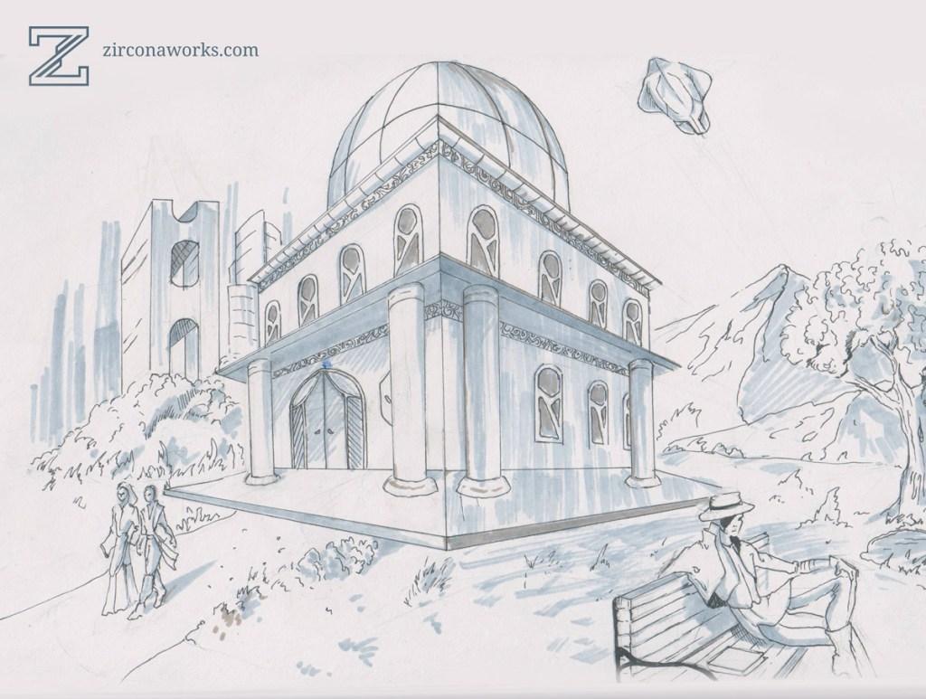 Sketch of Xa-Kol's Sacellum