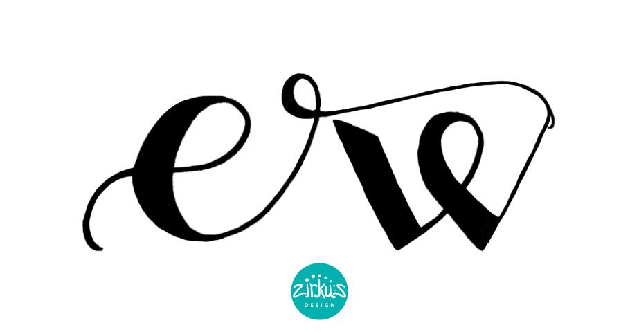 Zirkus Design | Emma Woodhouse Hand Lettered Logo Scan - Emma 3