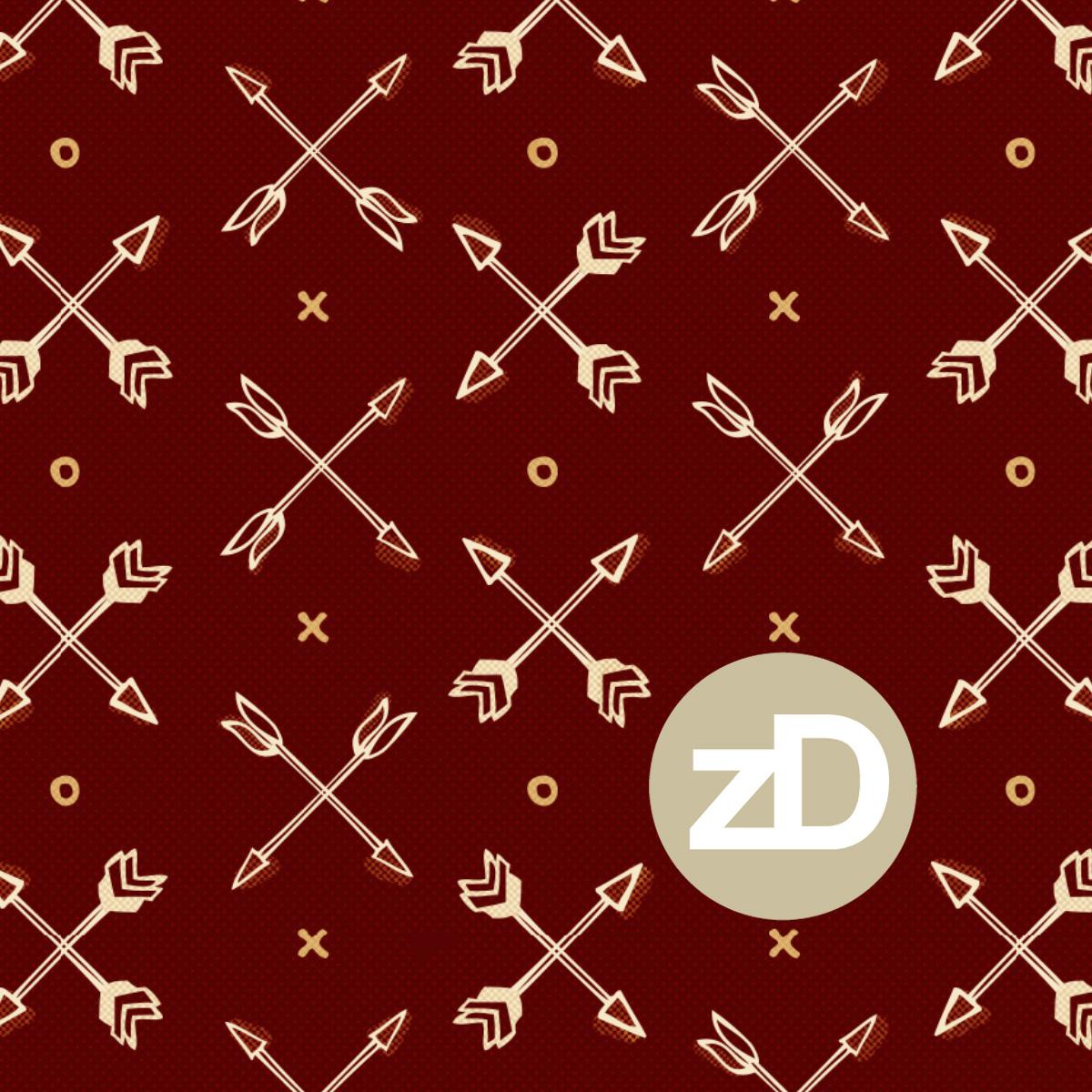 Zirkus Design | Cody Arizona Wild West Pattern Collection : Arrows