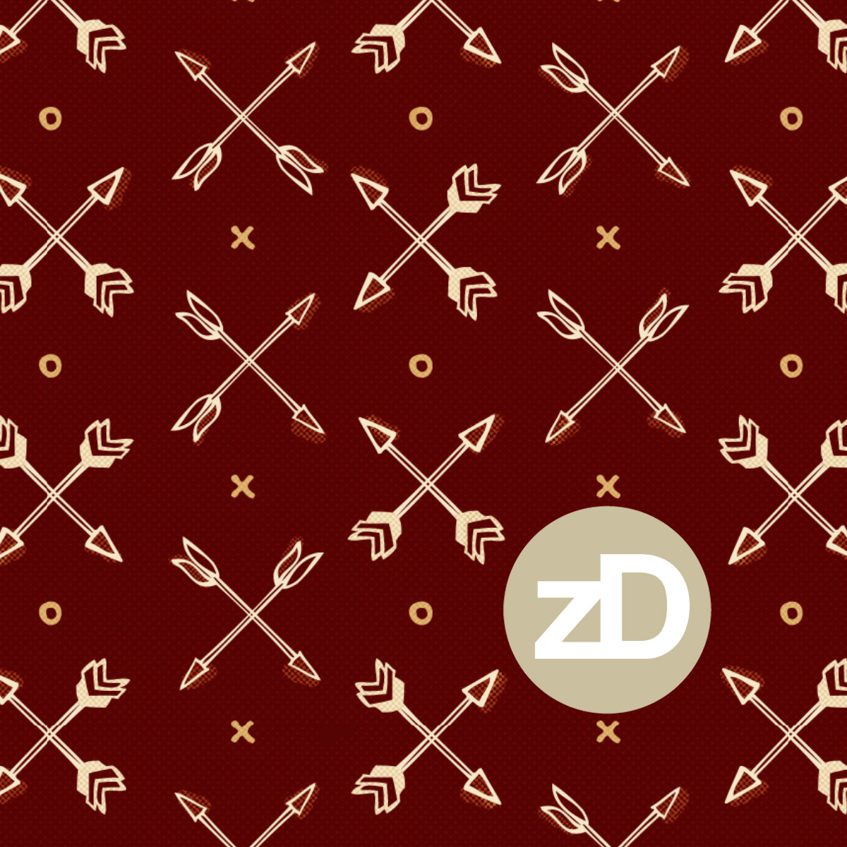 Zirkus Design | Cody Arizona Wild West Pattern Collection : Arrows