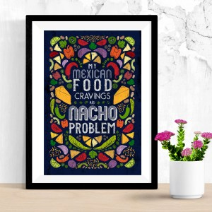 Zirkus Design // Blueprint NYC 2019 Recap + Lessons from a First-Time Attendee // Nacho Problem Tea Towel from Spoonflower