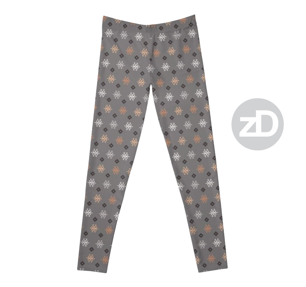 Zirkus Design | Boho Baby // Middle Eastern Metallic Pattern Collection Inspired by Turkish Kilim: Scorpion Secondary Print (Leggings Available Through RedBubble)