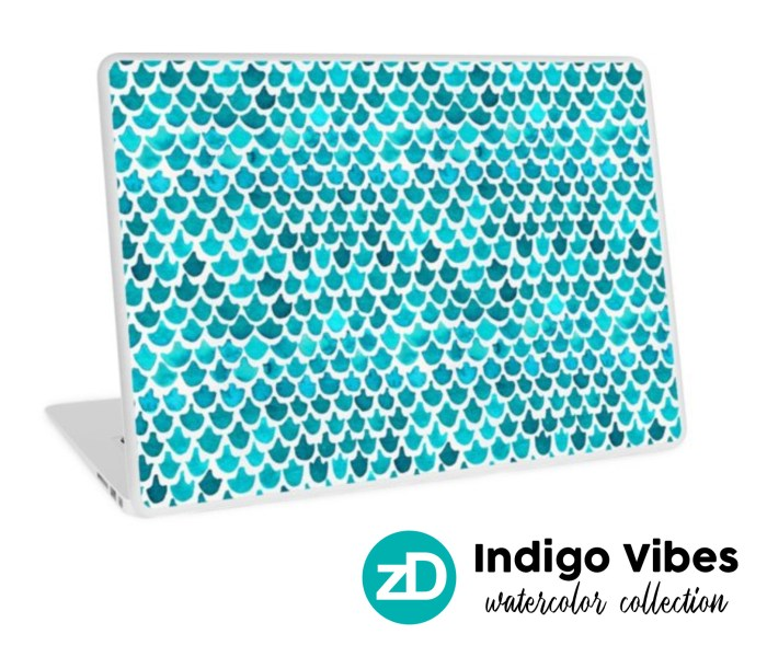 New Collection: Indigo Vibes Watercolor – Summer All Year Long!