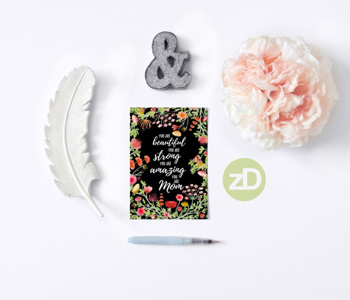Adventures in Watercolor: Elegant Mother's Day Card Designs