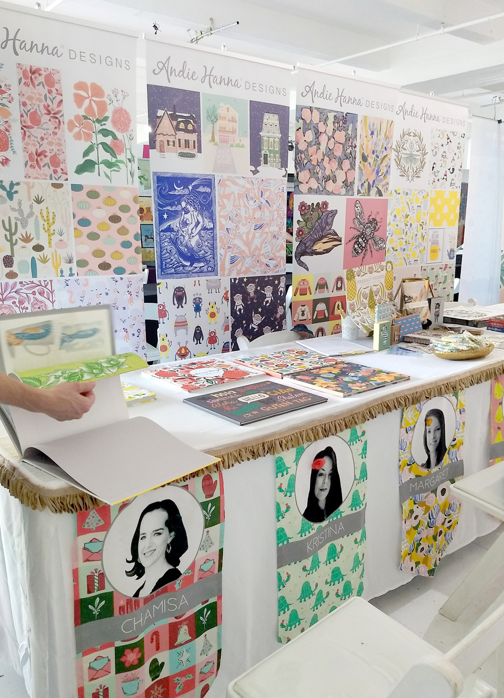 Zirkus Design // Blueprint NYC 2019 Recap + Lessons from a First-Time Attendee // Andie Hanna's Booth