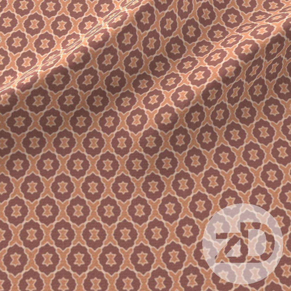 Zirkus Design | Boho Baby // Middle Eastern Metallic Pattern Collection Inspired by Turkish Kilim: Lattice / Wood Secondary Print