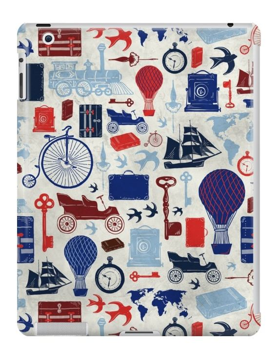 Zirkus Design | All Aboard to Explore Our Marvelous World - iPad Case