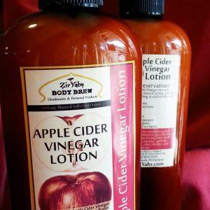 Apple Cider Vinegar Lotion