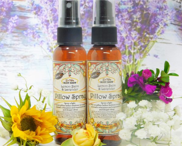 Two Pillow Sprays with flowers