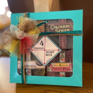 Four Corners Gift Box of American Southwest Soaps