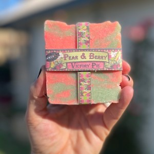 Pear and Berry Soap