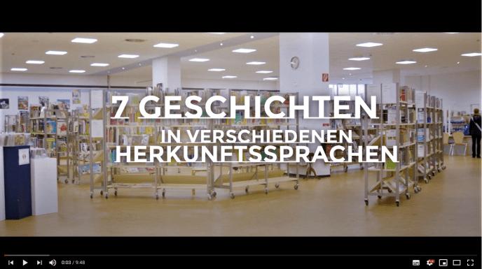 Die lebendige Weltbibliothek · 7 Geschichten · Stadtbibliothek Vegesack · 26. September 2020
