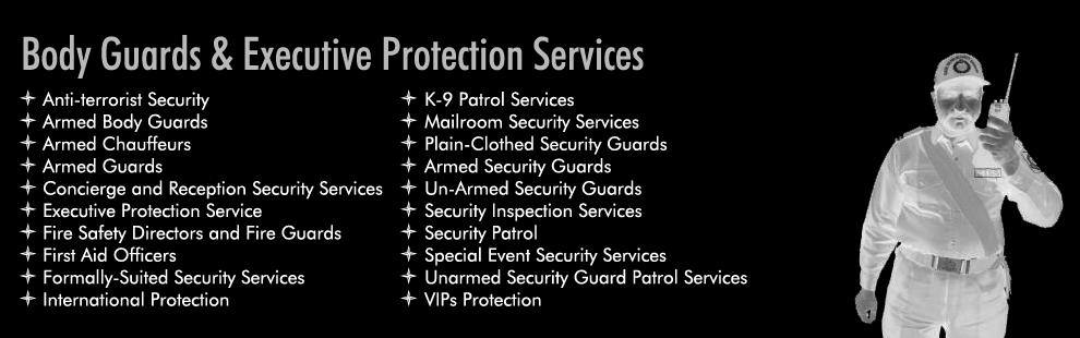 Bodyguard Services Karachi