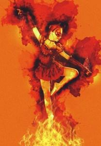 láska, oheň