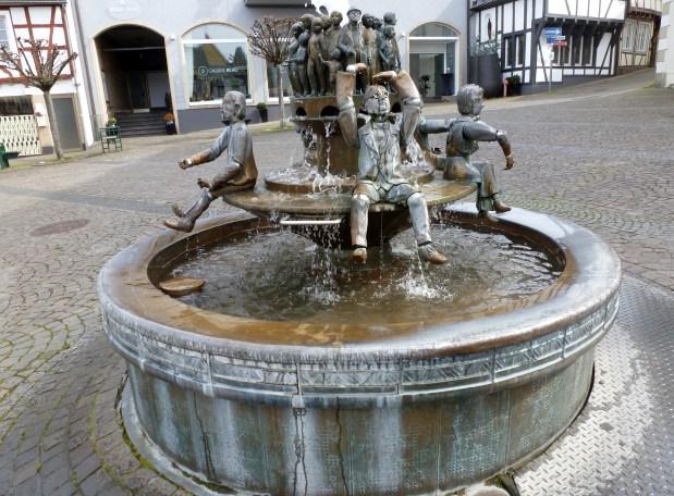 Ein wunderschöner Brunnen.