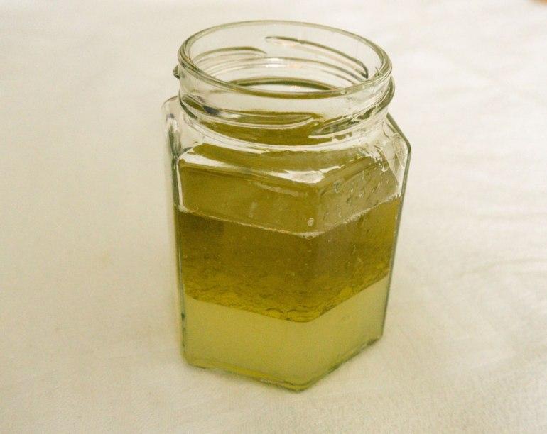Zitronensaft-Olivenöl-Marinade