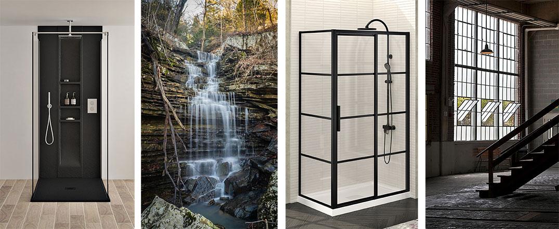 bathtub baignoires shower door