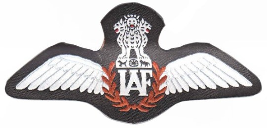 PILOT IAF badge