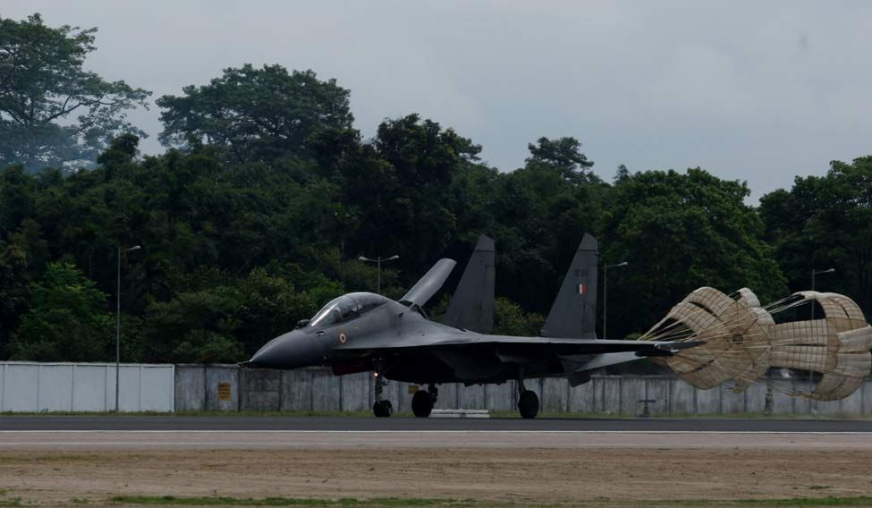 Su-30 lands in Arunachal Pradesh