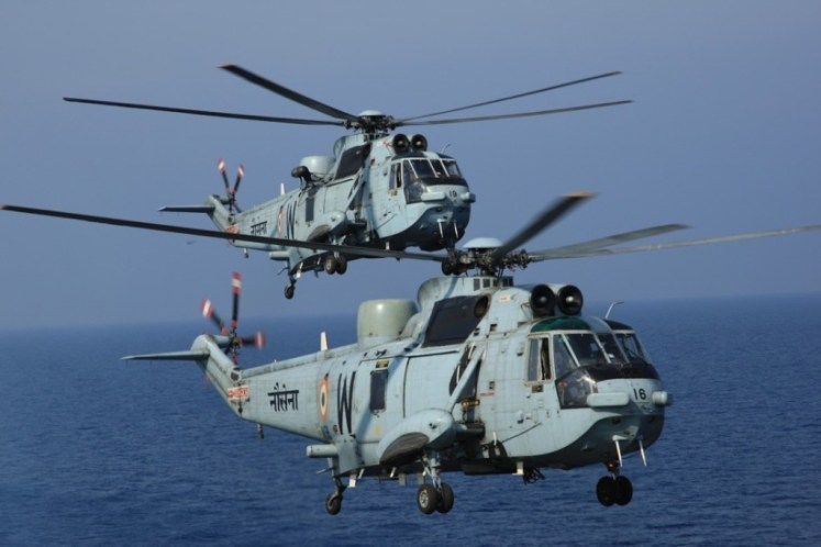 Westland-Seaking is  the King-anti-submarine warfare helicopter of indian navy