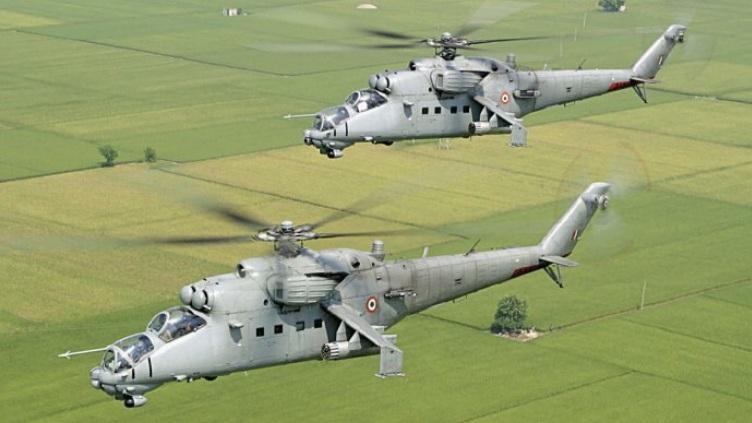 Mi-24 IAF