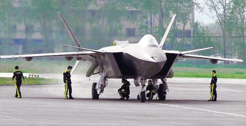 A top-secret Chinese stealth fighter, the J-20, was recently spotted in Tibet close to the Arunachal Pradesh border