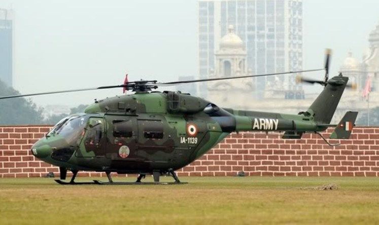 "ALH Dhruv Transported the ""Red Devils"" Across the LoC"