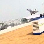 Mirage 2000 of IAF lands on a Highway in Uttar Pradesh