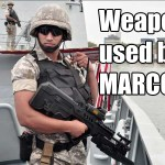 Weapons Used By MARCOS