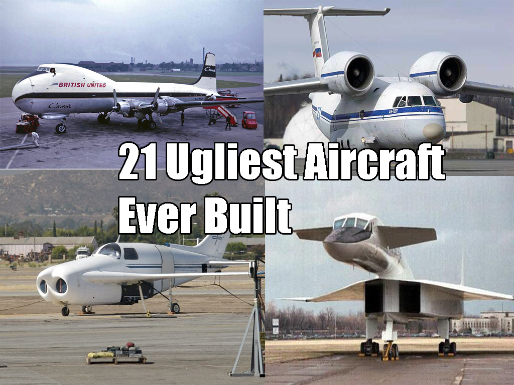 21 Ugliest Aircraft Ever Built