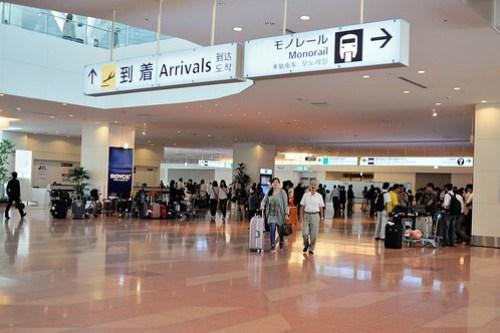 到著 東京羽田機場